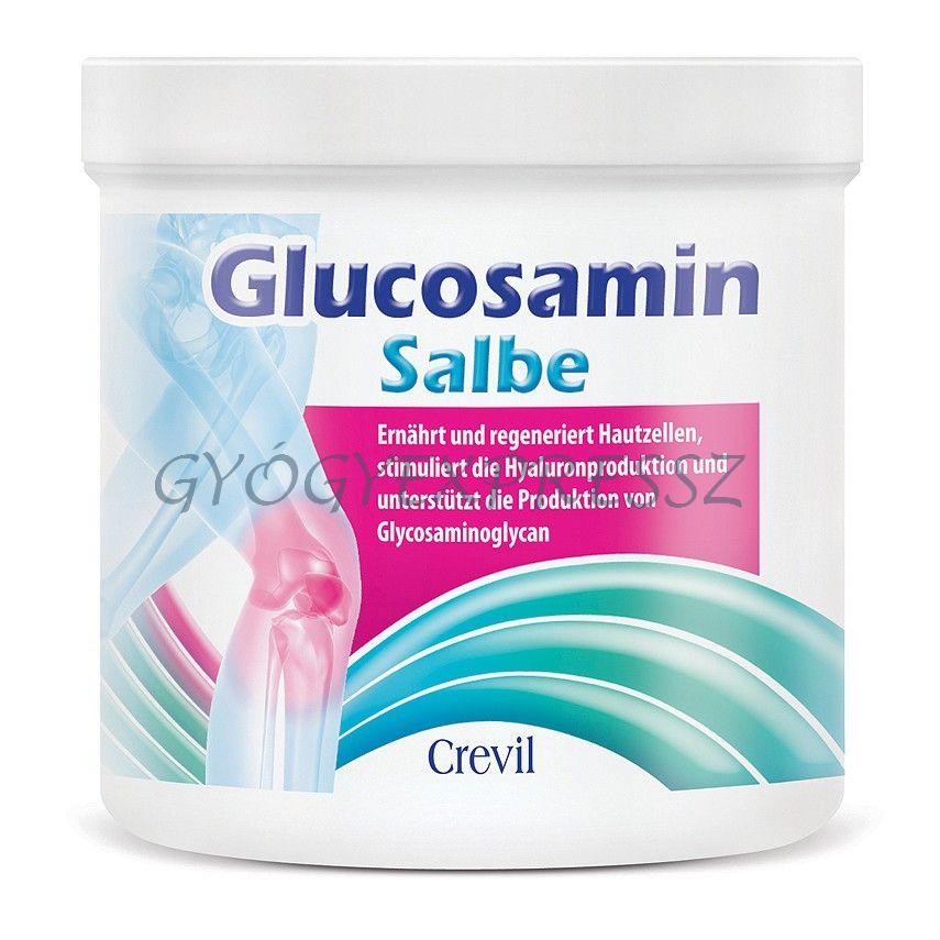 ízületi glükózamin kenőcs
