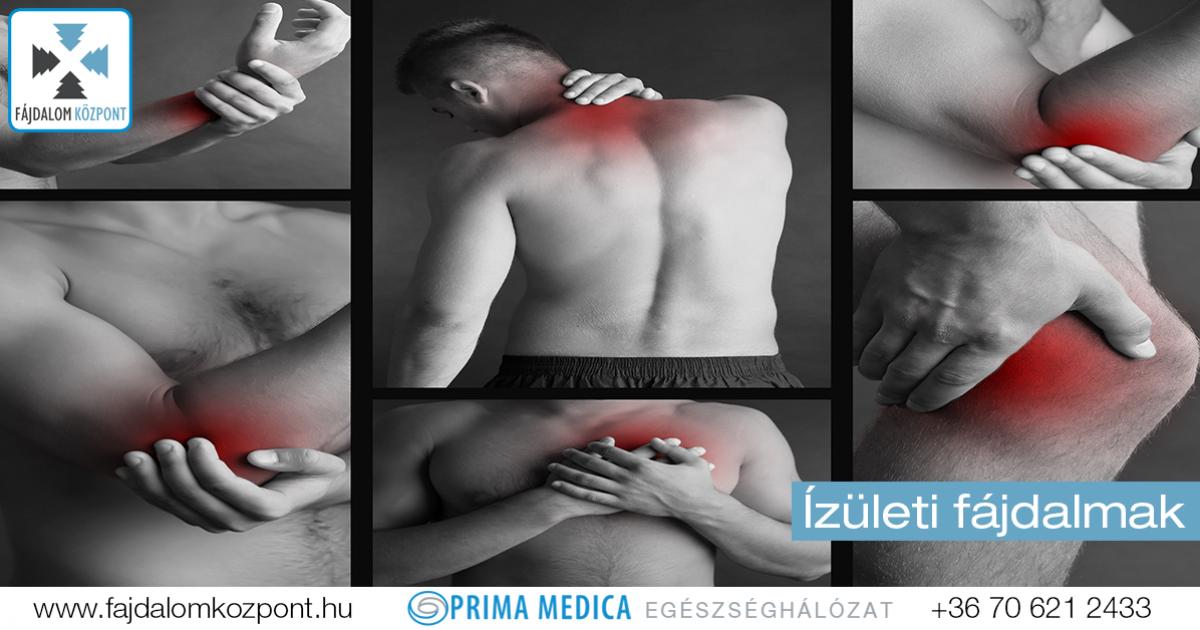 ha vannak ízületi fájdalmak)