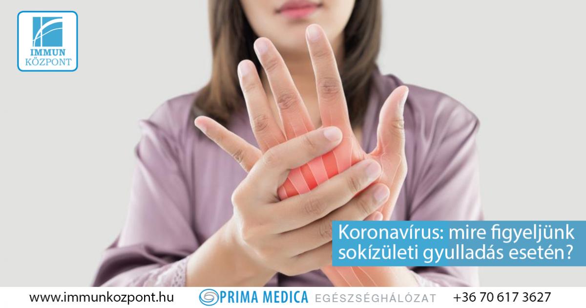 ízületi fájdalom vírusos fertőzés