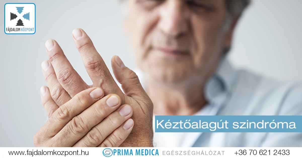 vényköteles fájdalom az ujjak ízületeiben