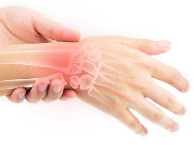 a csuklóízület mozgásának helyreállítása törés után
