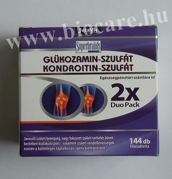 a glükozamin és a kondroitin arthra összetétele