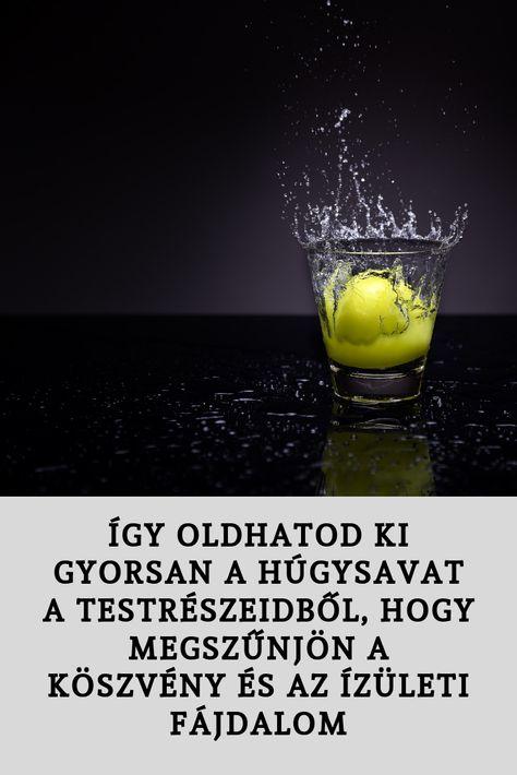 ízületi fáj a sós víz)