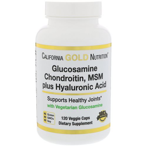 california gold nutrition glucosamine chondroitin review