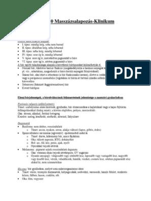 A csípőízület koxarthrosise - Myositis -