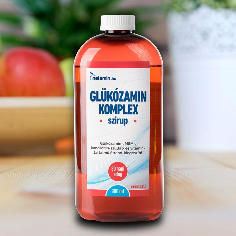 ízületi készítmények glükózamin kezeléssel
