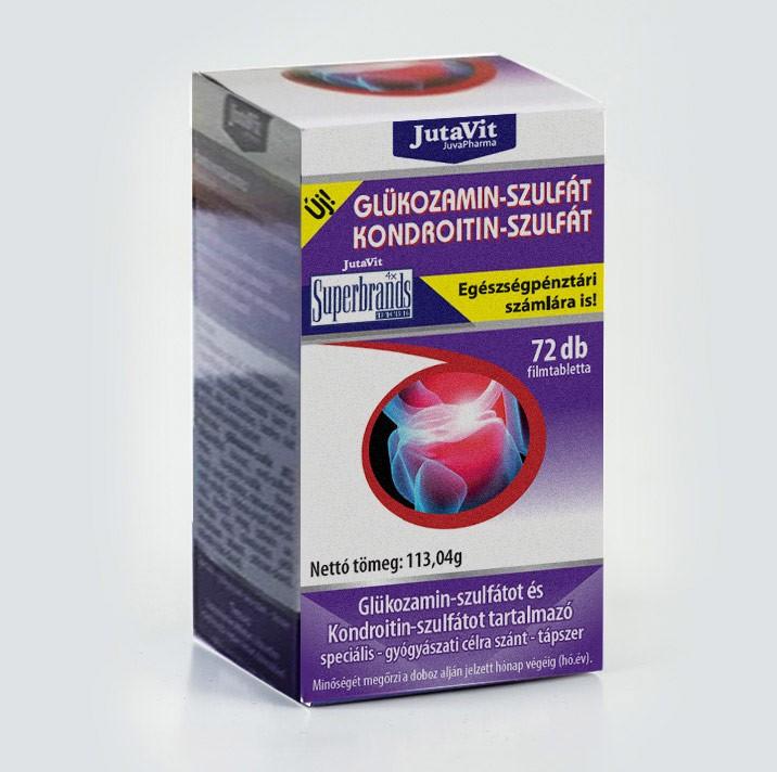 gyógynövény glükózamin-kondroitin a térd ligamentitisz ligamentumának gyulladása