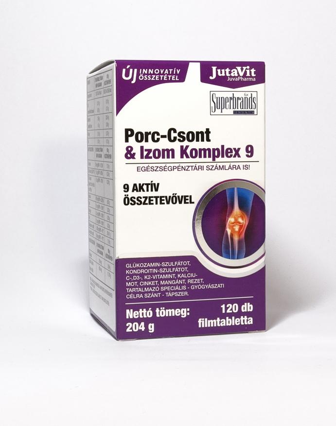 glükózamin-kondroitin komplex gyógyszerkészítmény előállítása
