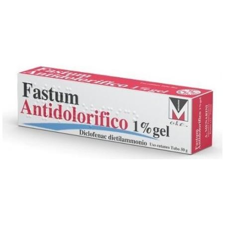 Fastum 25 mg/g gél gyógyszeradagolóban (1x100g)