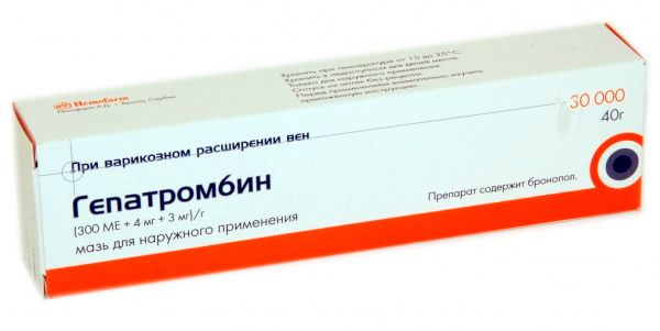 heparin kenőcs együttes kezelésre artróziskezelés taskentben