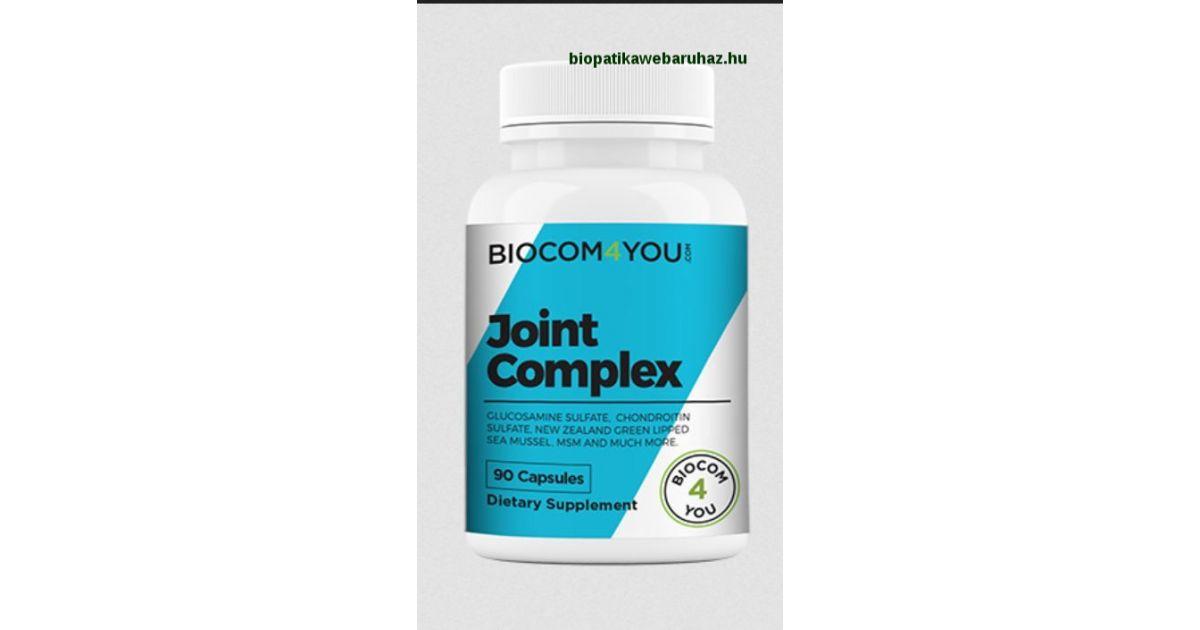 ízületi készítmények glükózaminnal