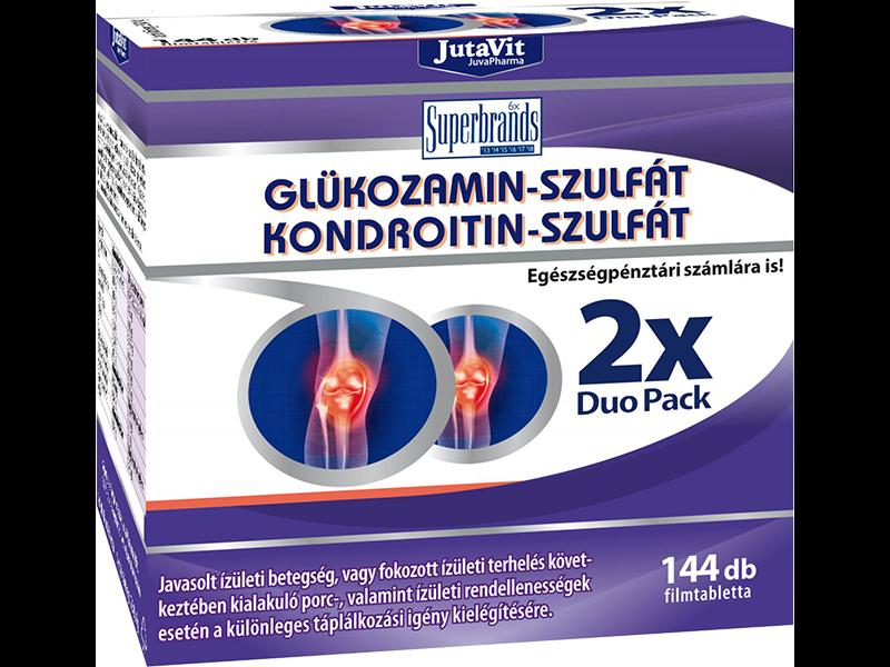a glükozamin és a kondroitin arthra összetétele)