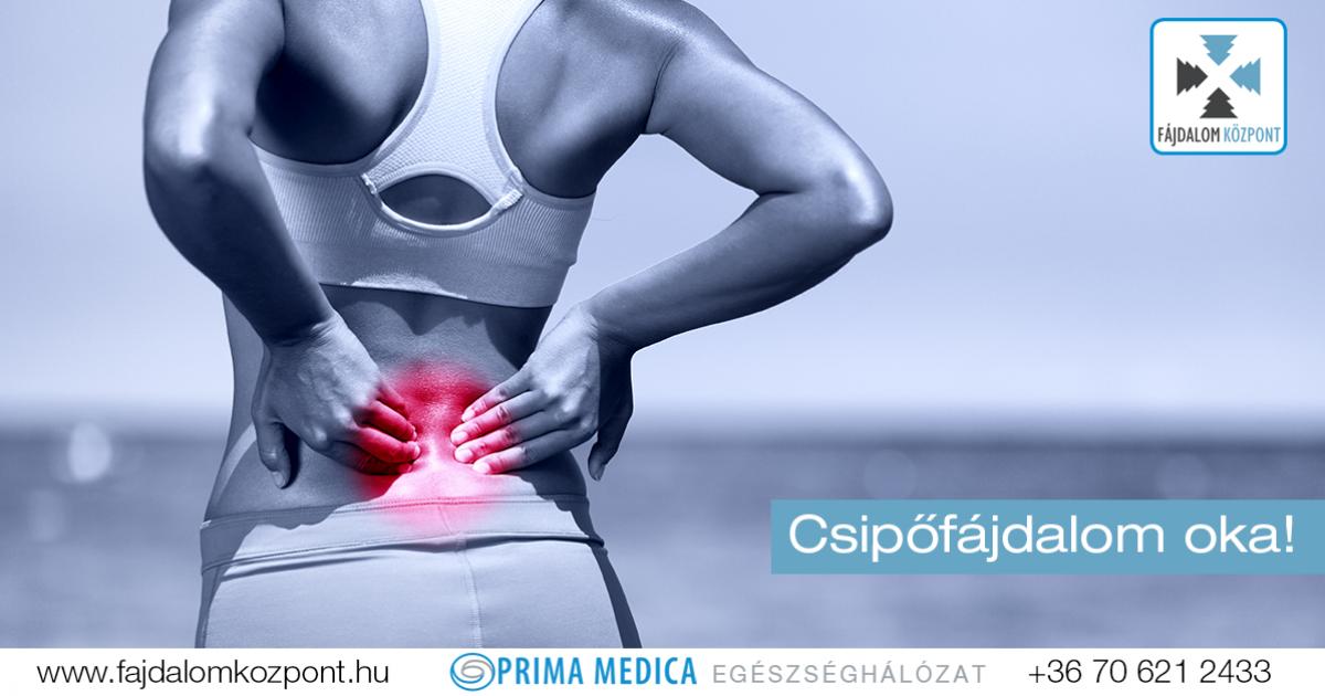csípőizületi fájdalom tünetei