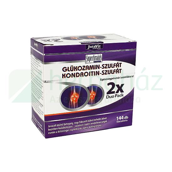 Jutavit Glükozamin-Kondroitin-MSM filmtabletta 72x - StatimPatika - Online Patika