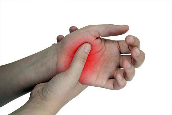 az ujjak ízületeinek osteochondrosis