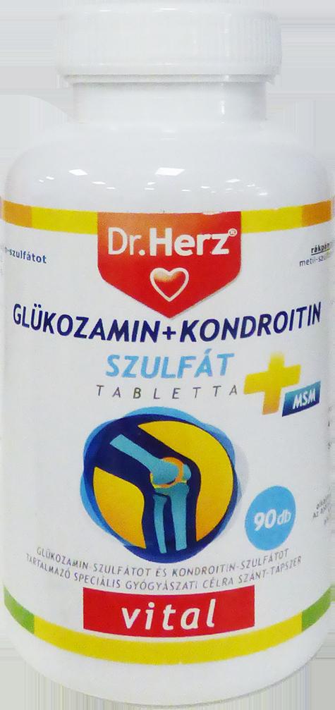 glukózamin és kondroitin káros