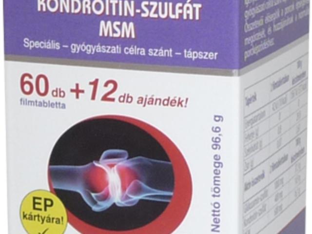 kondroitin glükózamin áron a vitebskben