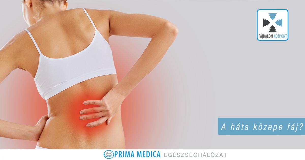A háta közepe fáj? Ez lehet a megoldás