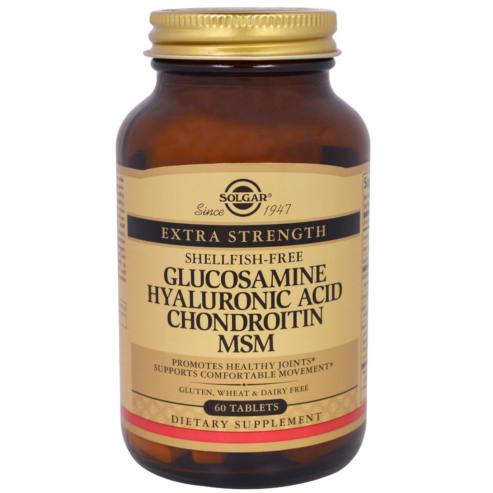 solgar glucosamine chondroitin msm