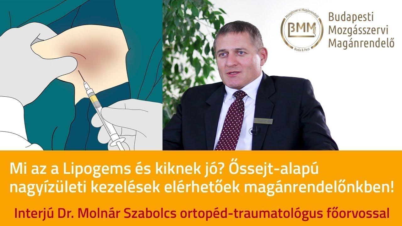 őssejt-artrózis kezelés ár)