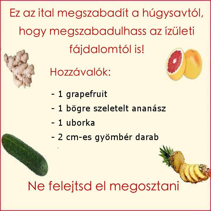 ízületi fájdalom uborka)