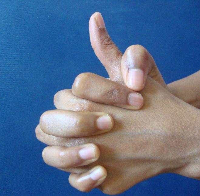 az ujj falanxának ízületi gyulladása