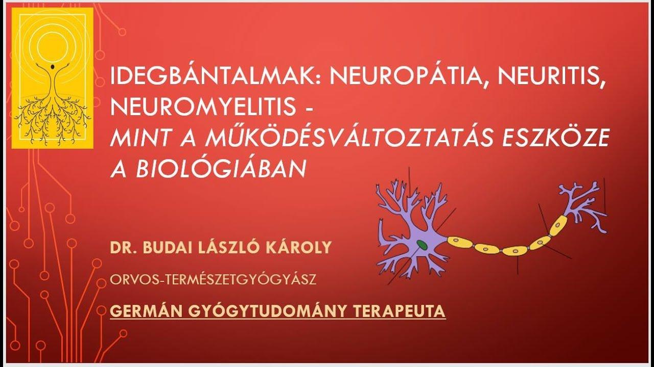 ízületi fájdalom és neuritis